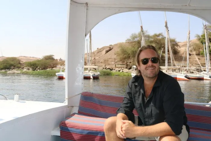 Sightseeing in Aswan, Egypt