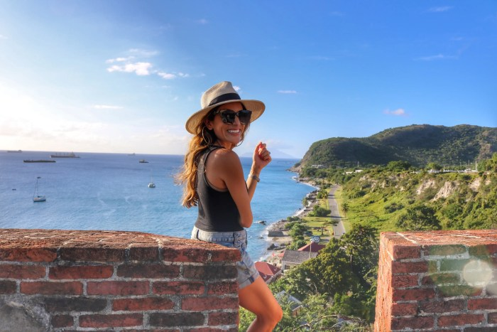 Island Hopping from Anguilla, Fort Oranje, Two Days in Statia