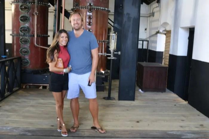 Visiting the Mount Gay Distillery, Barbados