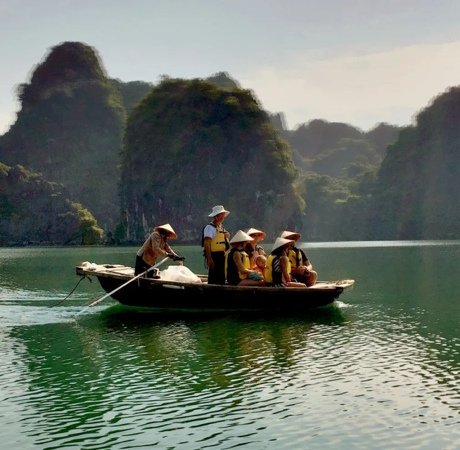 Vung Vieng Fishing Village, Indochina Junk