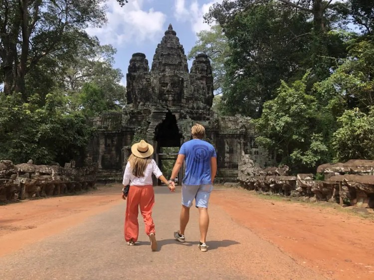 Angkor Thom; Temples in Siem Reap