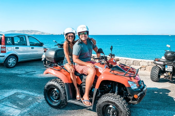 ATV Tour of Mykonos