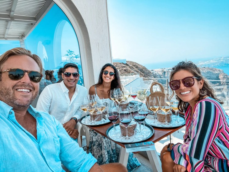 Self-Guided Wine Tasting Tour in Santorini