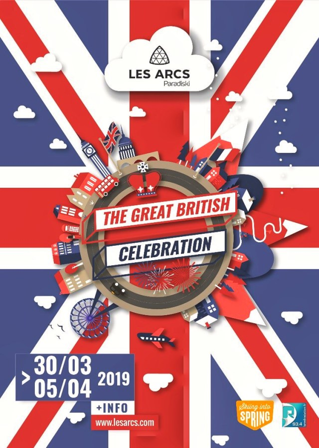 The Great British Celebration in Les Arcs 1