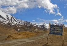 The highest point of the Pamir Highway, the highest of the Pamir passes available for road communication,The height of 4,655 meters is very noticeable at the Ak-Baital Pass. Every physical effort becomes a challenge. Despite that, the panorama at the pass is sensational and breathtaking.