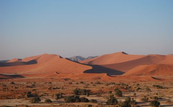 The lodges in the area offer guided tours to Sossusvlei if you don't want to use your own car.