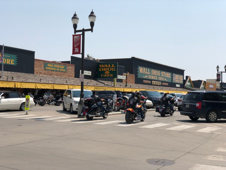 Wall Drug Parking Spaces