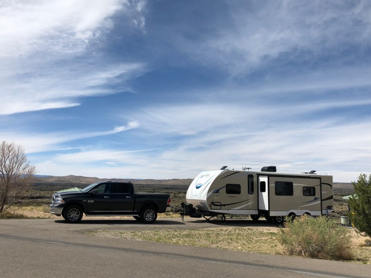 Valley of Fires Recreation Area campsite