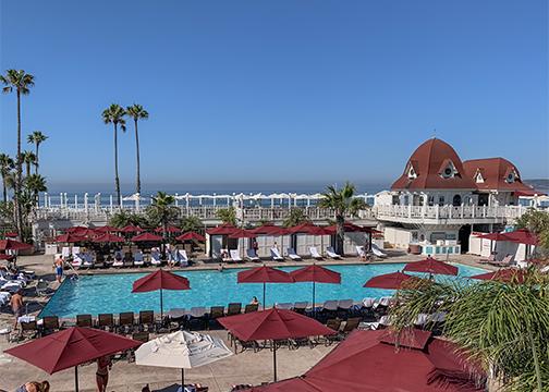 Hotel del Coronado Pool