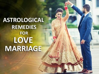 Vedic Astrological Solutions to Love Marriage Relationships