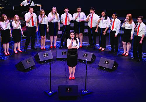 Performers from Auburn Riverside High School