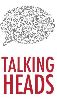 talking heads illustration