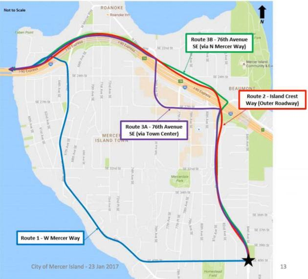 suggested routes for sounder transit trains