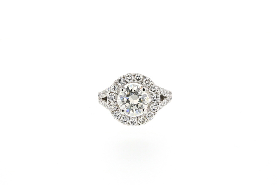 BAGUE DIAMANT BRILLANT 2 23 CTWEB01