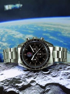 Speedmaster Moonwatch on the Moon