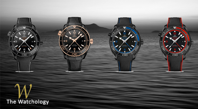 Seamaster PLANET OCEAN DEEP BLACK collection