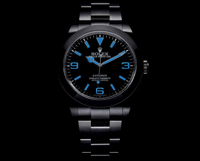 New Oyster Perpetual Rolex Explorer 214270