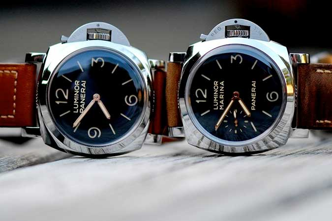 Panerai Luminor PAM372 vs PAM422