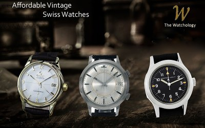 Affordable Vintage Swiss Watches and 5 Things to Consider