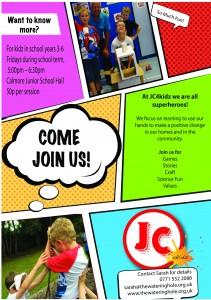 JC4kidz Flyer
