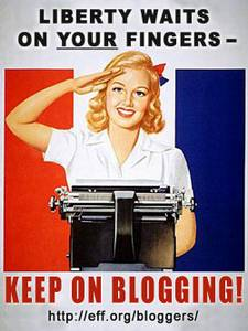 EFF Keep On Blogging!