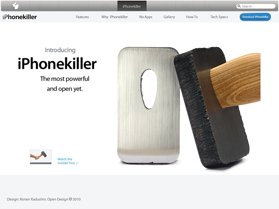 iPhone Killer by Ronen Kadushin