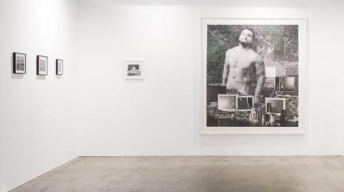 David Haines, galleria Upstream   Photo: Perottino – Alfero – Bottallo - Formica