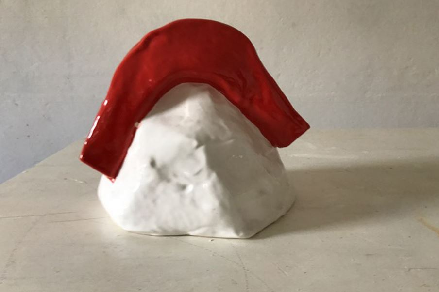 Quest'opera è Tristano, presentata dalla galleria Maurizio Nobile.