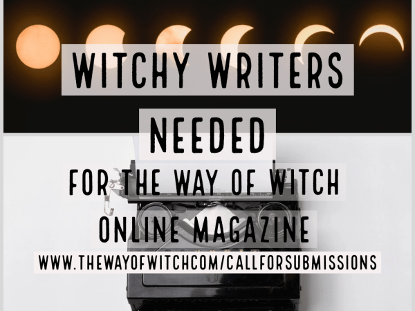 Submissions: Write for the Way of Witch