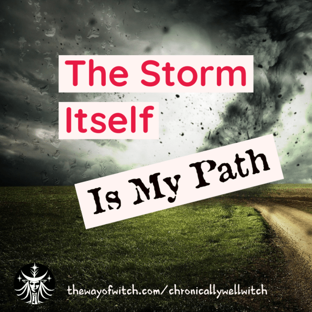The Storm Is My Path