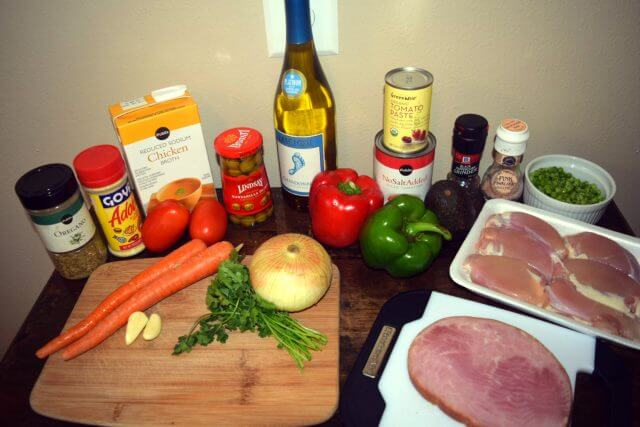 Recipe for Asopao de Pollo Ingredients