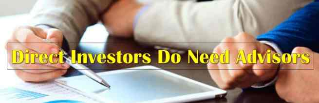 Direct Investors Too Need Financial Advisors