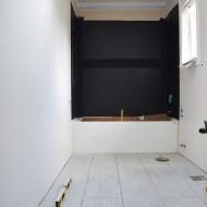 Bathroom Tile Install | One Room Challenge Week 3