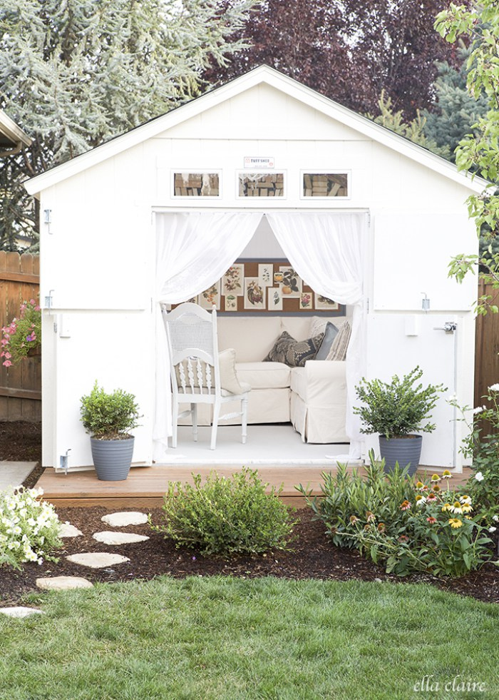 Backyard Shed Ideas