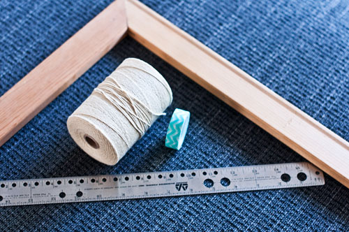 Frame Loom DIY Supplies | The Weaving Loom