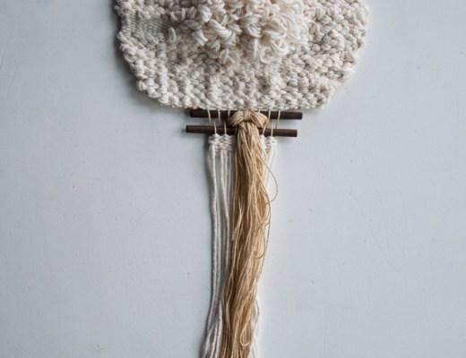 My Neutral Loop Weave | The Weaving Loom
