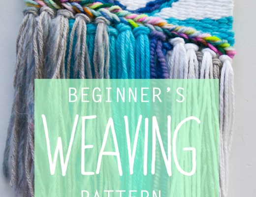 Beginner's Weaving Pattern || The Weaving Loom