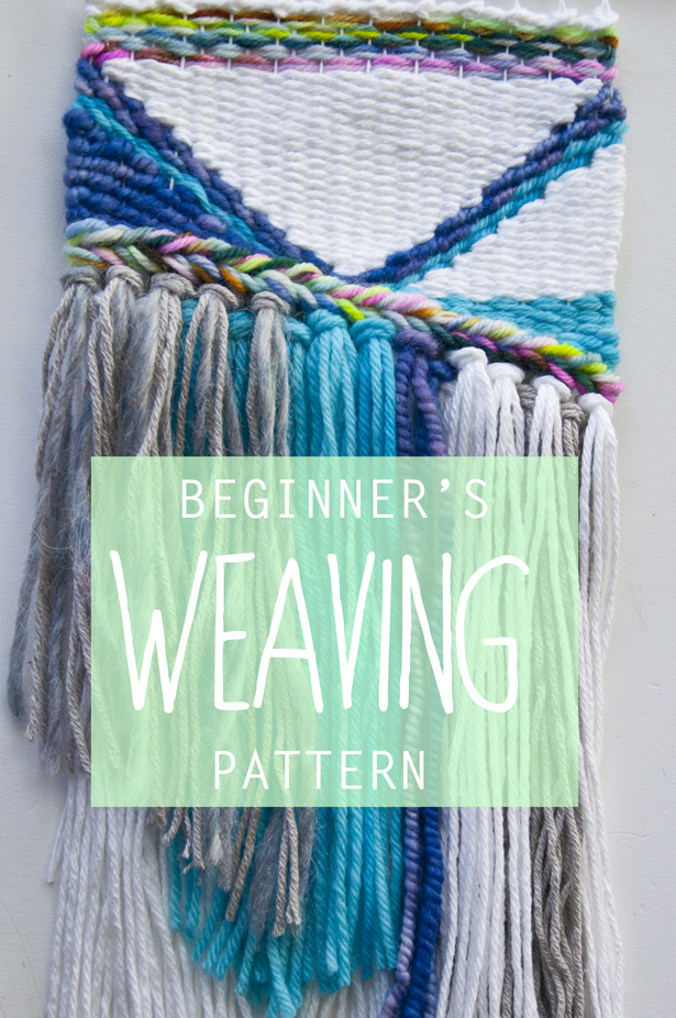 Beginner's Weaving Pattern || The Weaving Loom