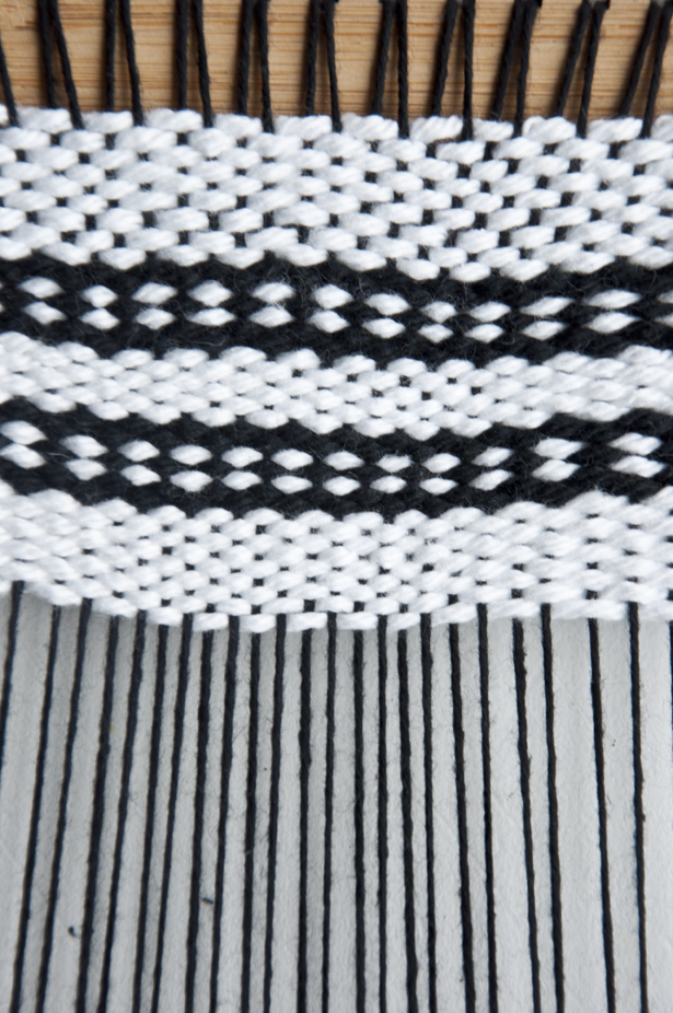 Weaving Techniques Oval Draft Pattern The Weaving Loom