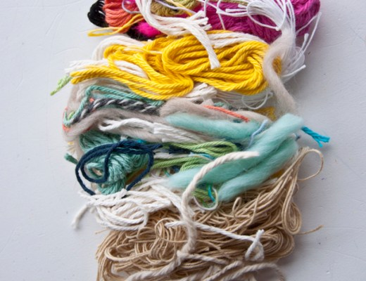 Shag Weave Stash Buster   The Weaving Loom