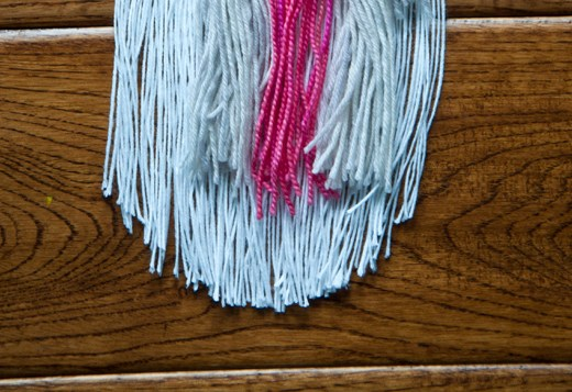 Shaping your Fringe in a Curve | The Weaving Loom