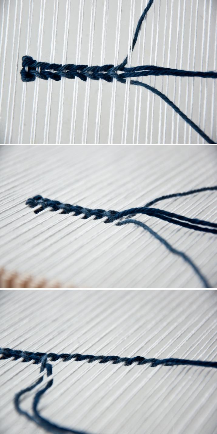 Weaving Techniques || Twining Weave | The Weaving Loom