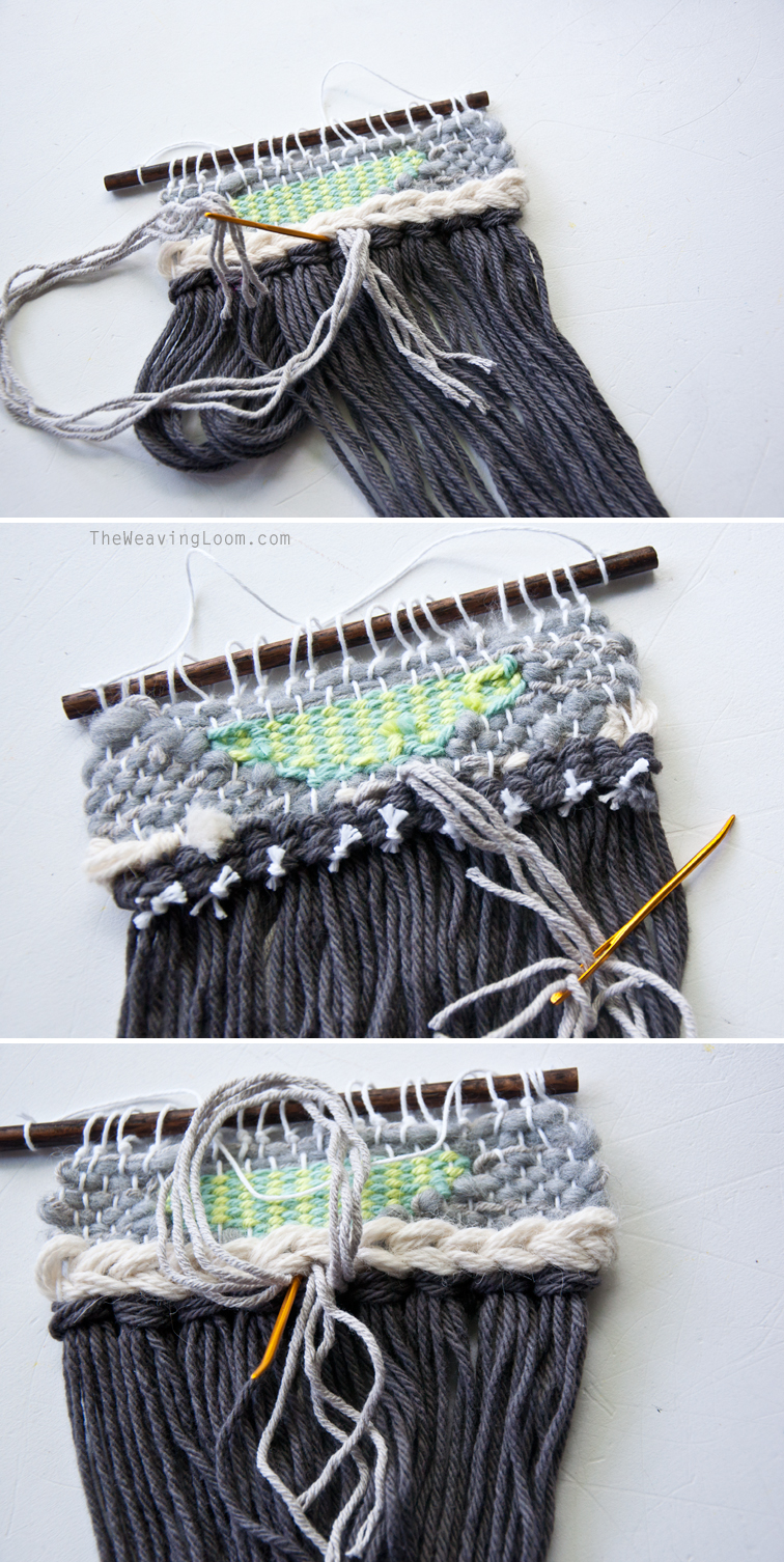 How to Change Fringe in a Finished Weave