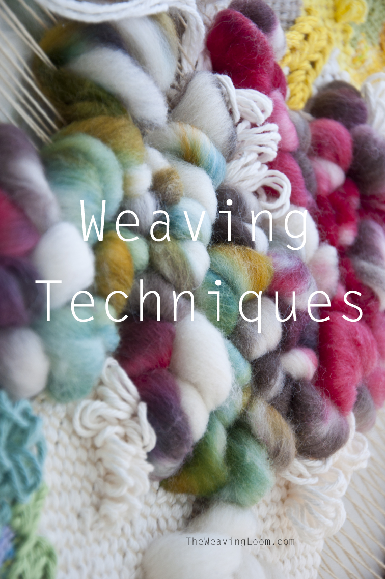 A great resource for weaving tutorials. So many to try!