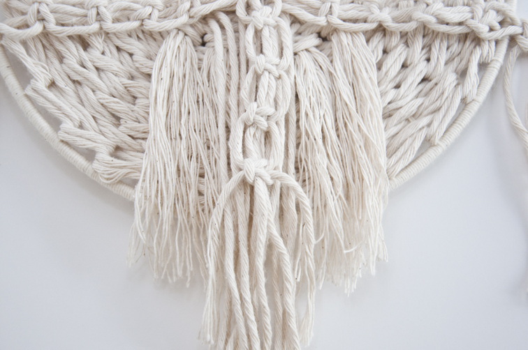 Weaving Technique Macrame Flair The Square Knot The
