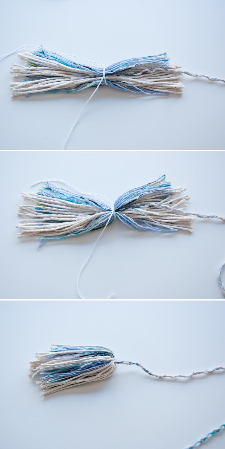 How to make some cute bushy tassels