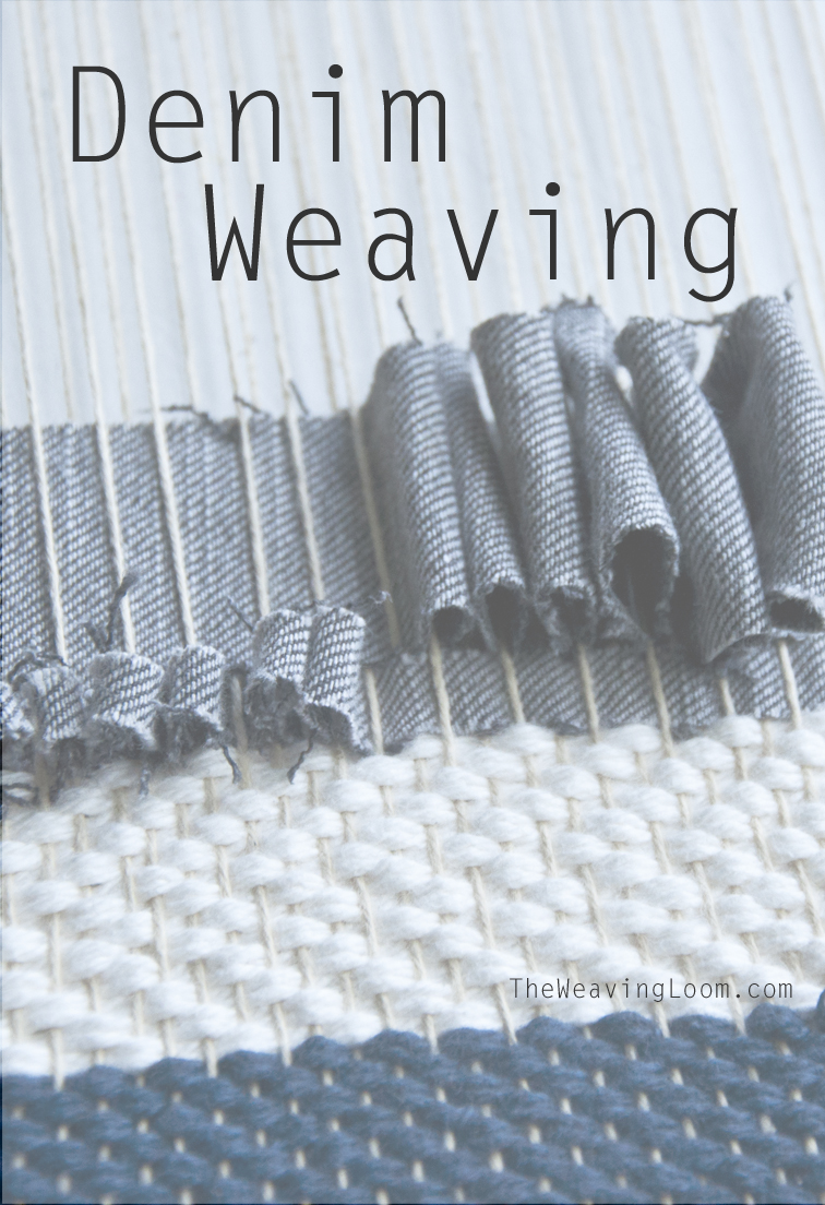 Weaving with Denim || techniques