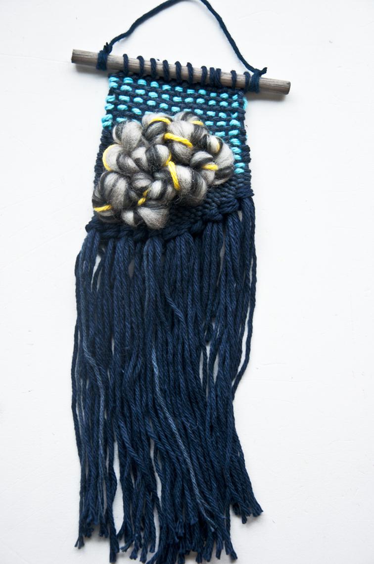 3 colors weaving tutorial
