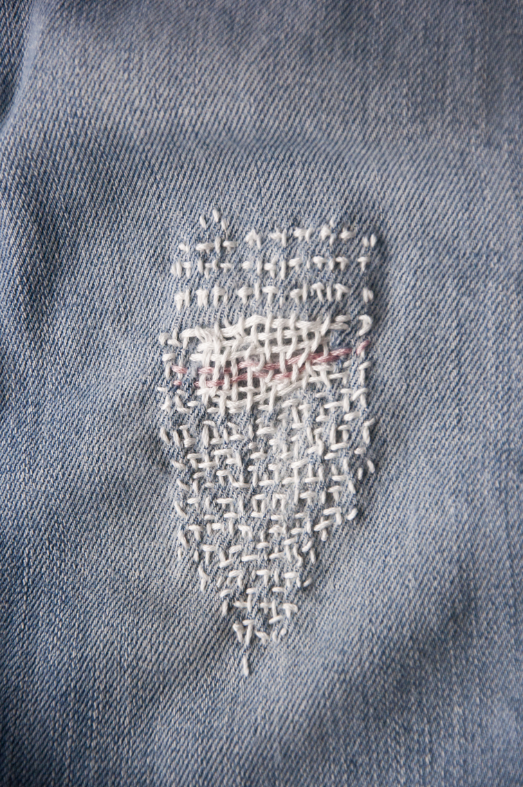 how to make a woven patch