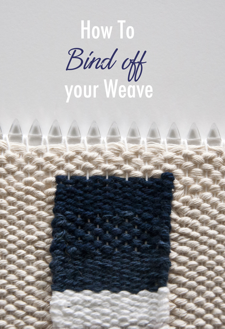 How to bind off your weave